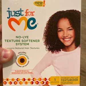 JUST FOR ME Children's No Lye Hair Texturizer NEW